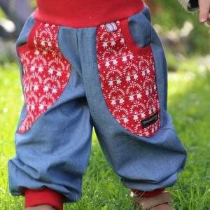 "Sommerhose ""rotes Lottchen"""