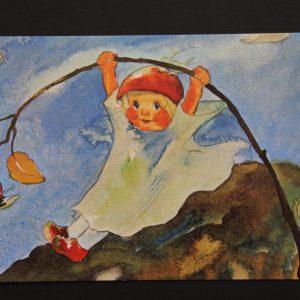 Postkarte Hagebuttenschaukel