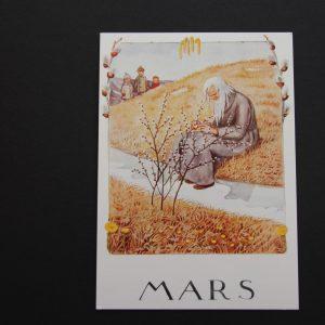 Postkarte März