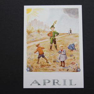 Postkarte April
