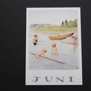 Postkarte Juni