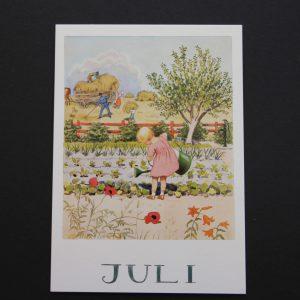 Postkarte Juli