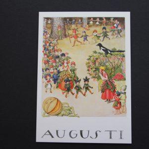 Postkarte August