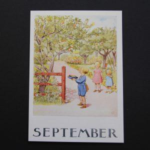 Postkarte September