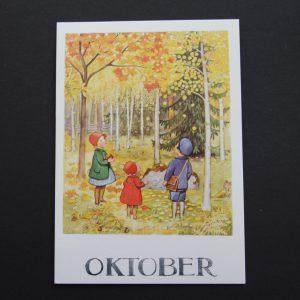Postkarte Oktober