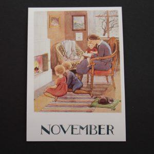 Postkarte November