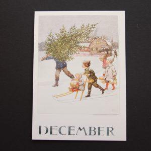 Postkarte Dezember