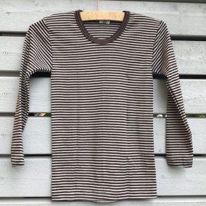 Wolle-Seide Hemd Langarm