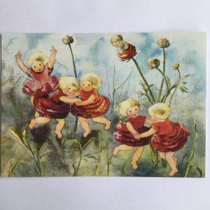"Postkarte ""Ringelreihen"""
