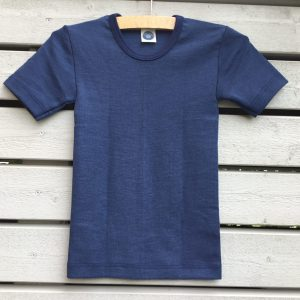 Wolle-Seide Hemd kurzarm